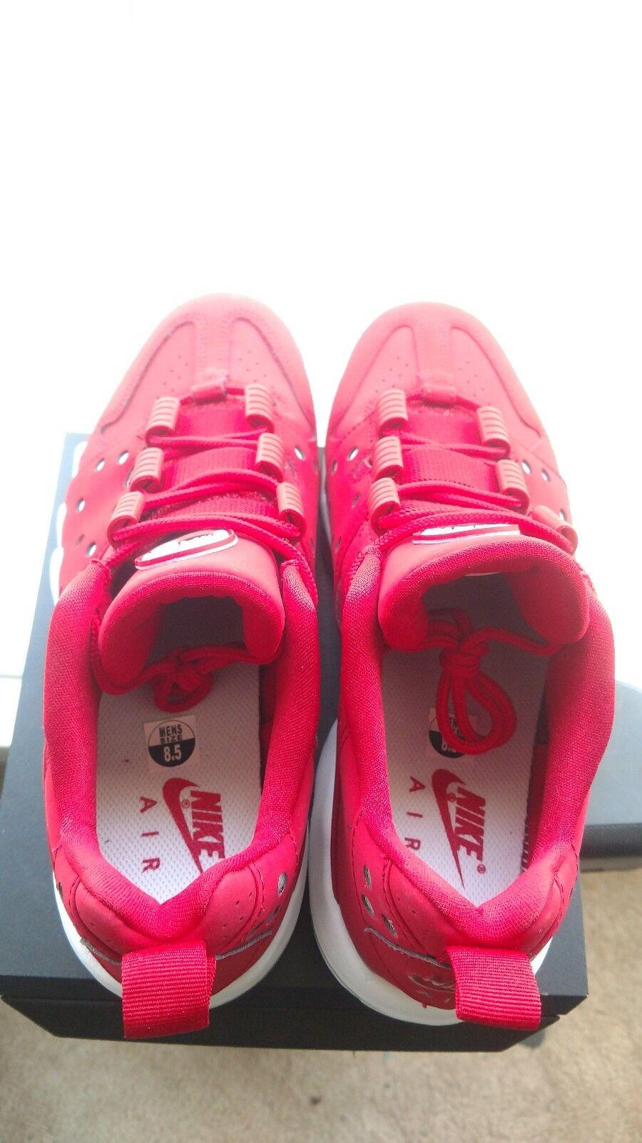 Nike Air Max '94 Charles Barkley (CB) Low (red/white) Men's Sz 8.5 [917752-600]