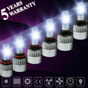 Fog Light Combo H11 9005 9006 LED Headlight Kit 4500W 675000LM High//Low Beam
