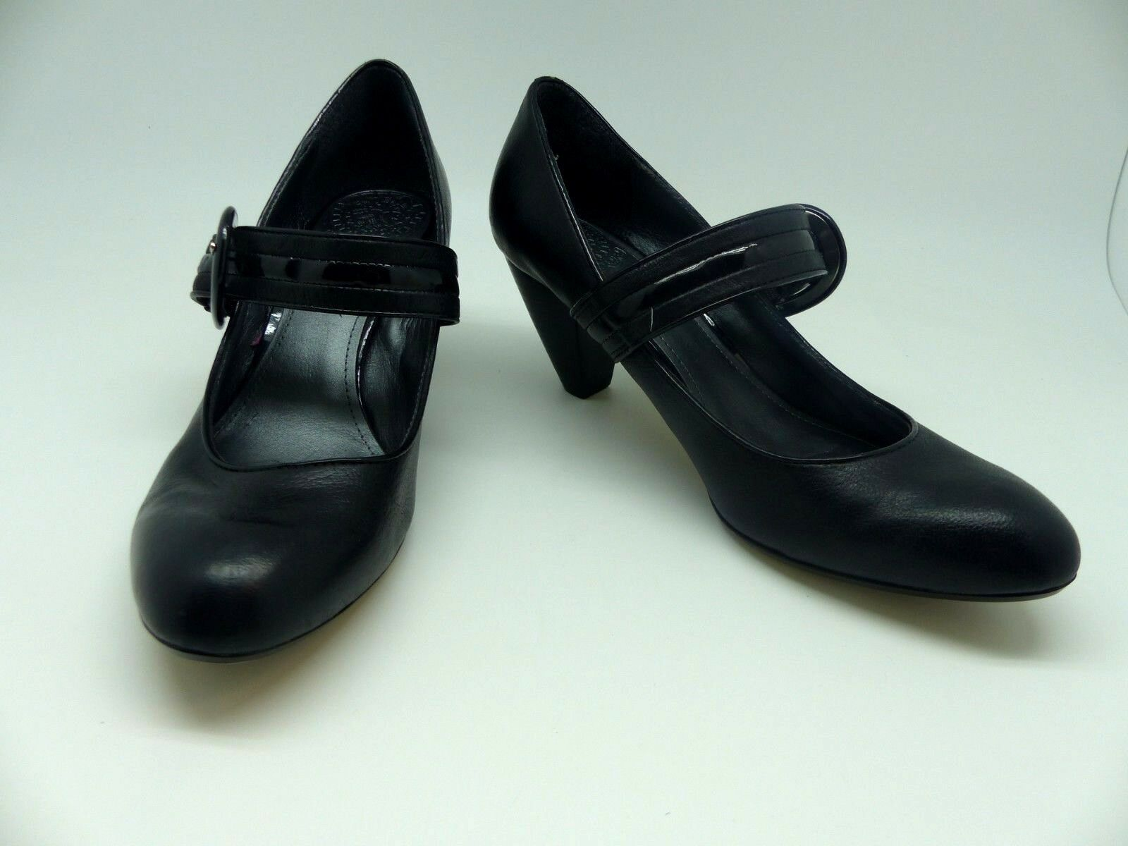 Clarks Black Mary Jane Heels UK 5.5D Good condition