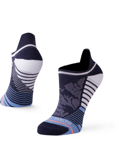 Stance Women/'s Blue Crusher Tab No Show Socks in Blue
