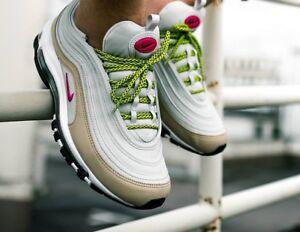 Uk Air Nike da 5 Max da donna 97 7 Scarpe deadly 921733 Pink ginnastica 004 vwZSwqd