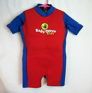 Body Glove kids shorty Wet Suit child size small 30-40 lbs ...