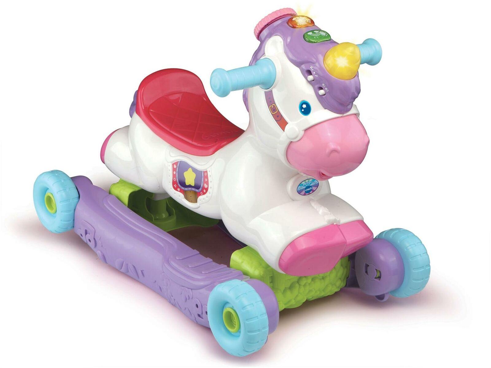 Vtech ROCK & RIDE UNICORN Baby-Spielzeug Spiele Neu