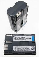 2 Battery For Canon Zr25mc Zr30mc Zr45mc Zr50mc Zr65mc Zr70mc Minidv Camcorder
