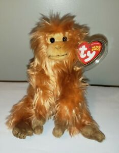 Ty Beanie Baby CAIPORA the WWF Golden Lion Tamarin Exclusive MINT with MINT TAGS