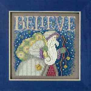 MILL-HILL-Buttons-Beads-Kit-Counted-Cross-Stitch-5-034-x-5-034-BELIEVE-MH14-1304