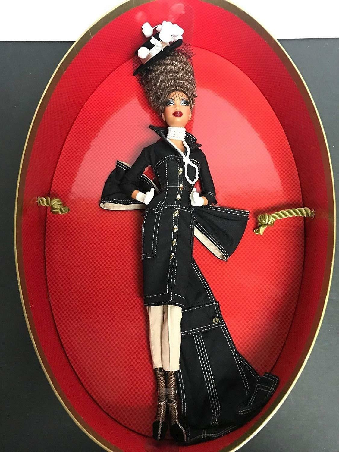 Byron Lars Pepper Barbie COLLECTOR Doll   Gold label  in Mattel shipper MINT