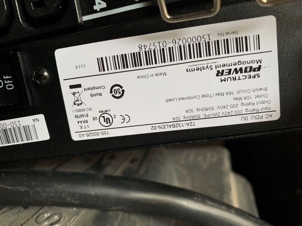 Kabler, Spectrum Power Management Systems, Perfekt