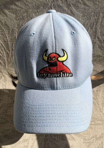 Toy Machine Periwinkle Blue Hat Monster Flex Fit S