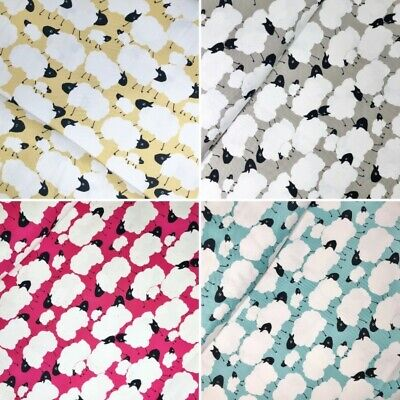 100/% Japanese Cotton Fabric Sevenberry Leaping Rabbits Floral Flower Bunny