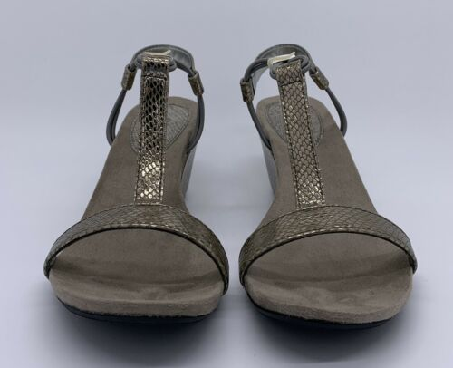 New Pewter, Women/'s Mulan Open Toe Casual Platform Sandals Style /& Co
