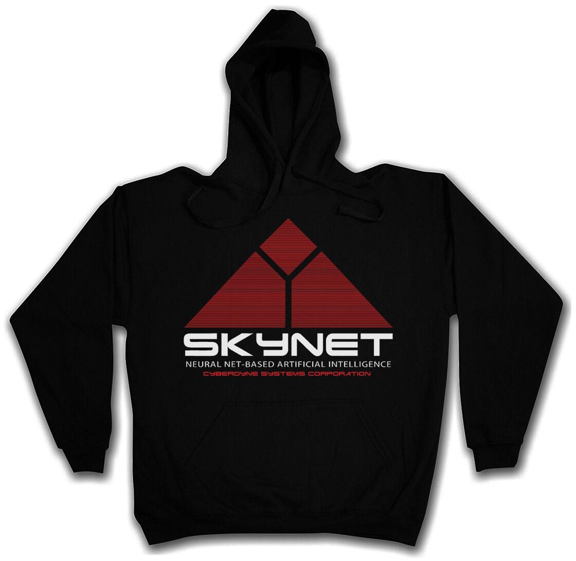 HOODED SWEAT SKYNET LOGO - Kapuzenpullover - Cyberdine Terminator S M L XL XXL