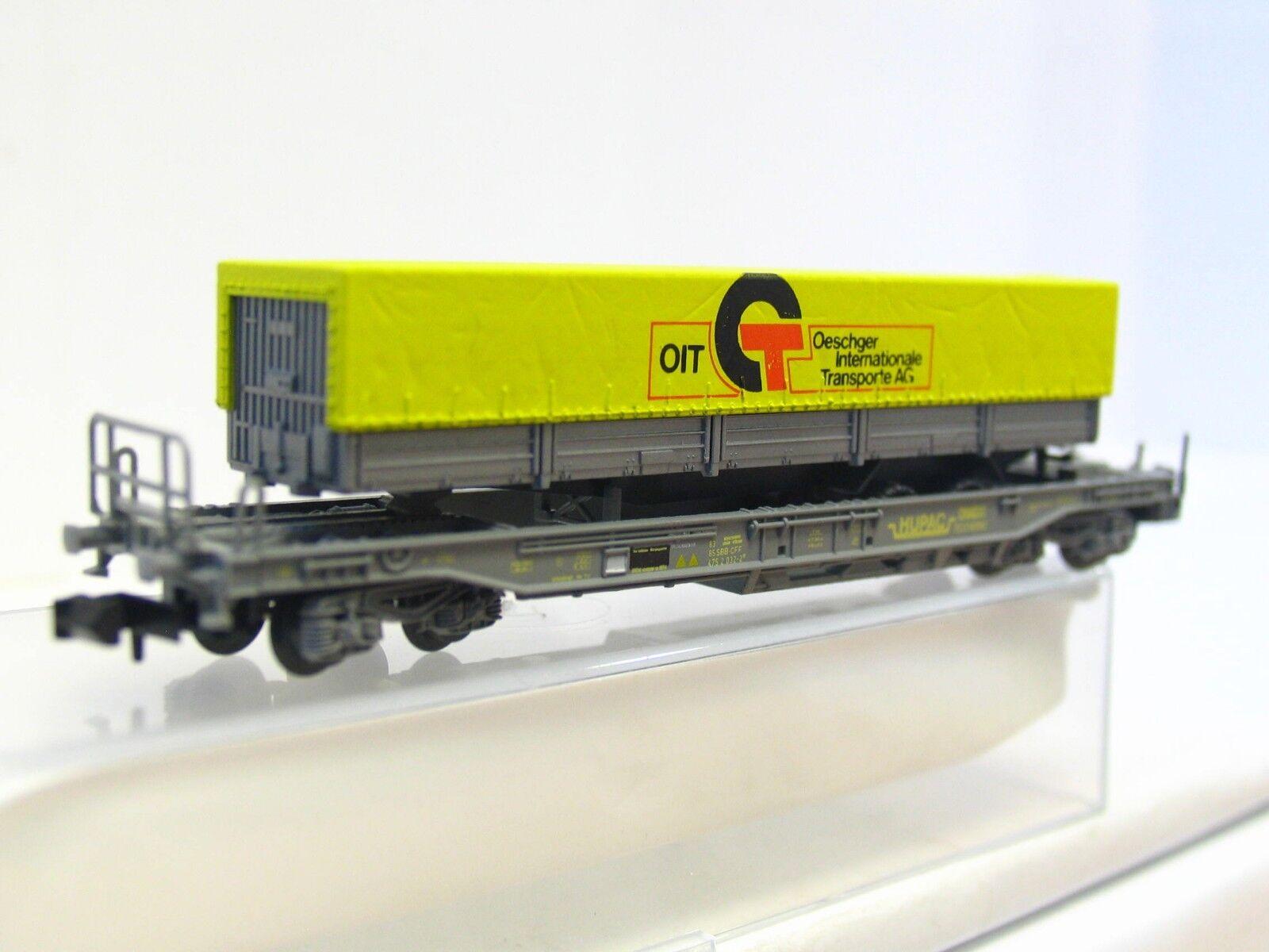 Staiber N Einheitstaschenwagen Oit Hupac SBB CFF OVP (RB183)