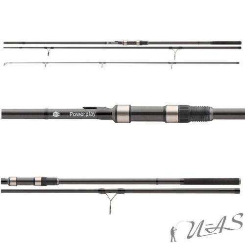 JRC Powerplay Carp Rod High Modulus Carbon Karpfen Rute 3tlg 3,90M 3Lbs Sha