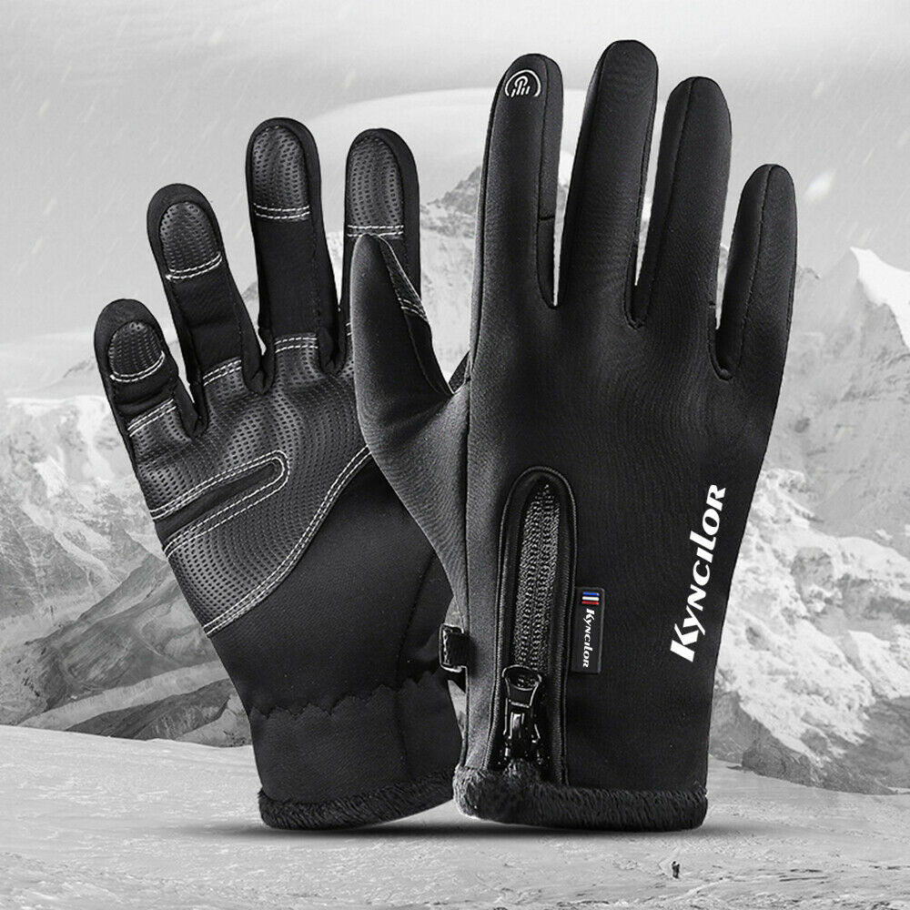 Winter Warm Gloves,Touchscreen Cold Weather Windproof Anti-Slip Sports Gloves