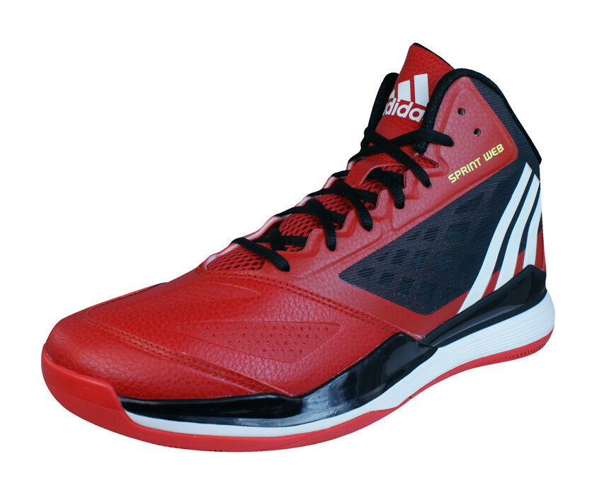 Adidas Crazy Ghost 2 Mens Basketball Sneakers   shoes - Red