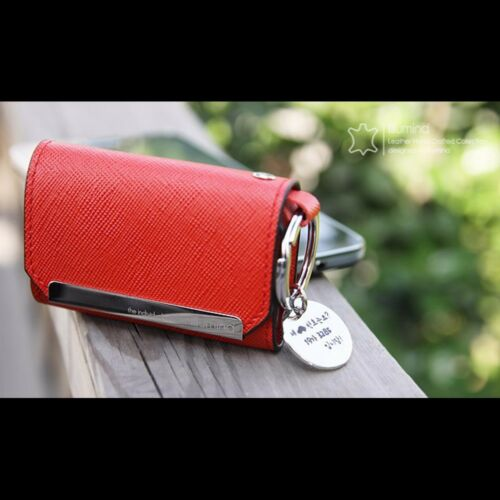 Leather Smart Key Holder Case Cover For KIA All New Sorento 2016+