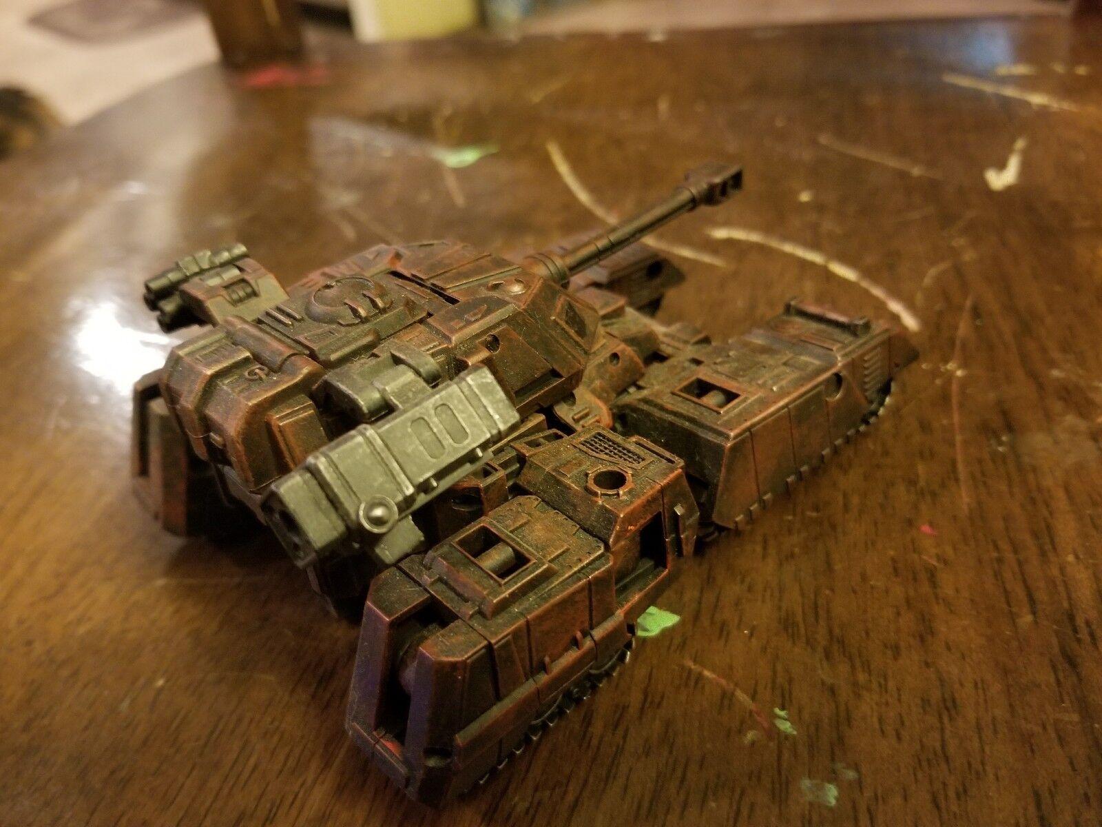 Personalizado Transformers-realista, listos para la batalla de lujo Warpath. uno de una clase
