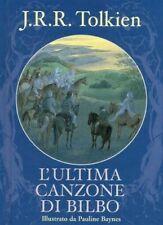 L'ULTIMA CANZONE DI BILBO di Tolkien Illustr. Pauline Baynes ed. Nexus