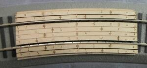 S Scale Curved RR Crossing for Lionel(American Flyer) 27R 2-rail Fastrack system