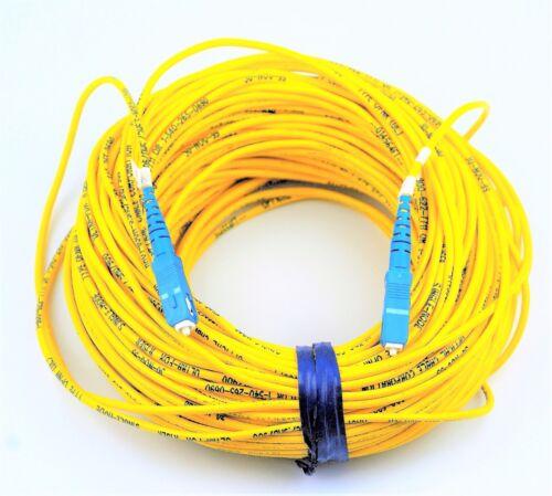 46 METER FIBER OPTIC CABLE YELLOW 50J-08046-99 SC//SC ATT:20623 BRAND NEW #G89