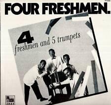 JAZZ LP FOUR FRESHMEN AND 5 TROMBONES DON SIMPSON FRANK CARLSON JACK MARSHALL