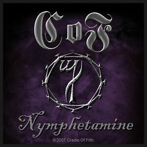 CRADLE-OF-FILTH-Patch-Aufnaeher-Nymphetamine