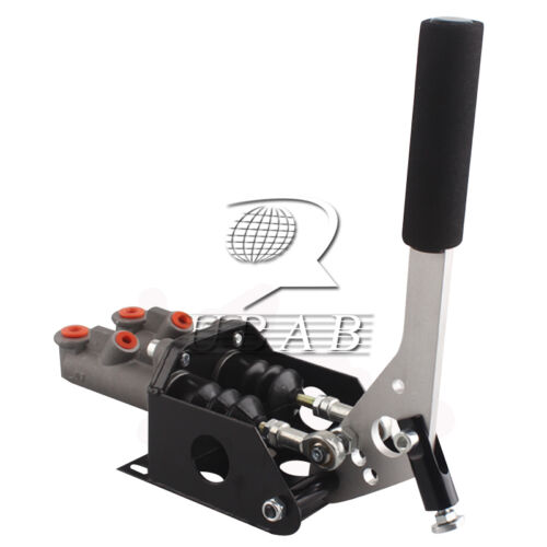 Double Master Cylinder Hydraulic Drift E-Brake Racing Handbrake Lever Custom New