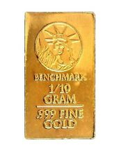 In Assay Card 1//30 Gram .9999 Fine 24k Gold Bullion Bar