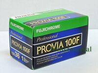 3 Rolls Fujichrome Provia 100f Professional Slide Film 35mm 36exp Fuji
