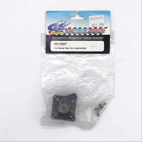 GS Racing .21B Pull Starter Rear Part Set PN 21B GSC89007
