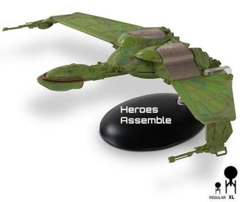 EAGLEMOSS Star Trek Klingon ave rapaz Starship Mega XL especial