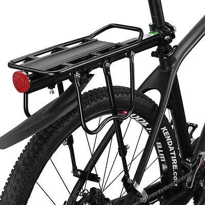 Rockbros Bike Rear Bicycle Painner Bag//Luggage Rack Relfector Carrier QR Max75KG