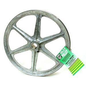"Evaporative Cooler Blower Pulley Anti Rust Corrosion 11/"" x 5//8/"" Cast Metal Wheel"