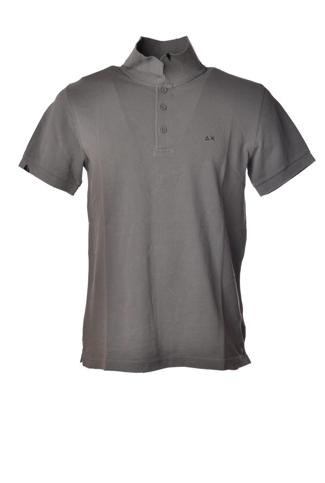 Sun 68 - Topwear Polo - Mann - Grau - 3192315G184143