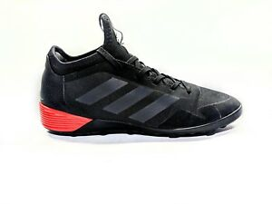 a0d0fd17d0a Adidas Ace Tango 17.2 TF Turf Indoor Soccer Black Red Sz 6.5 BA8539 ...