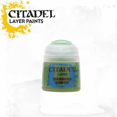 Citadel Paint Layer Warboss Green Warhammer 22-25