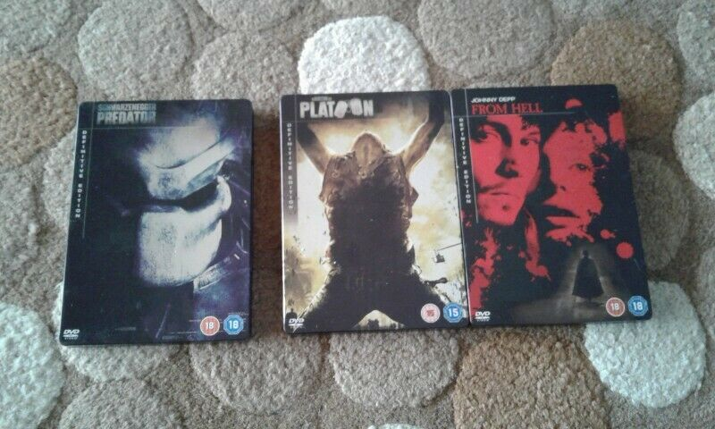 Definitive edition steel case DVDs for sale
