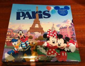 ALBUM-PHOTO-PARIS-7-SOUVENIR-NEW-Disneyland-Paris
