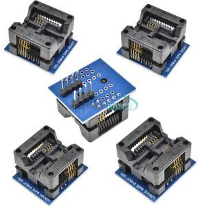 Programador-5PCS-Adaptador-SOP8-Zocalo-DIP8-200mil-para-TL866CS-EZP2010