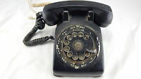 VINTAGE BLACK BELL SYSTEMS WESTERN ELECTRIC ROTARY DIAL Telephone