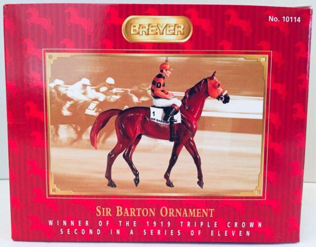 NIB Breyer 700905 Citation Triple Crown Racehorse Christmas Horse Ornament