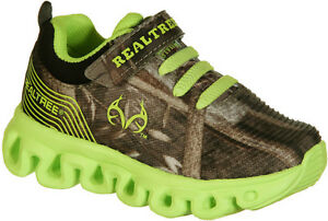 Toddler Youth Sneakers Realtree Lil Spicey LIght UP Camo Tennis Shoes