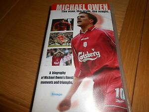 MICHAEL OWEN BIOGRAPHY VHS 2001 - Solihull, United Kingdom - MICHAEL OWEN BIOGRAPHY VHS 2001 - Solihull, United Kingdom