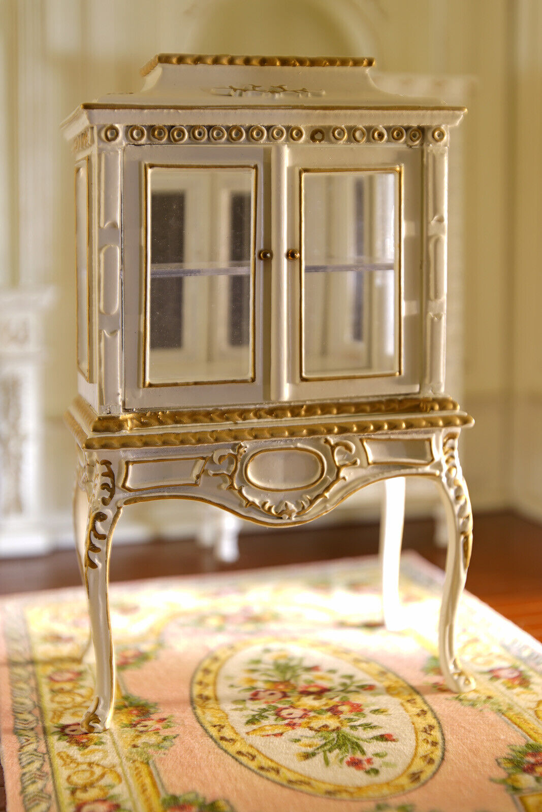 Muebles casa de muñecas en miniatura escala 1 12 Colección Clásica bien hecho del gabinete