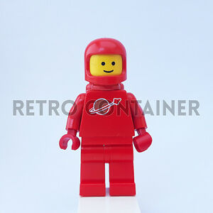 LEGO Minifigures Space Classic Omino Nice Logo 1x sp005 Red Astronaut