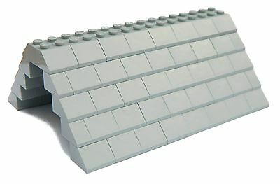LEGO ROOF 5x12x16 # GREEN # 100 pieces Slopes Tiles 1x2 2x2 # NEW #