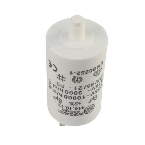 Véritable HOTPOINT INDESIT sèche-linge Moteur Condensateur 8uf C00196906