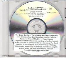 (EN89) The Grand Opening, Towards Your Final Rest - 2013 DJ CD