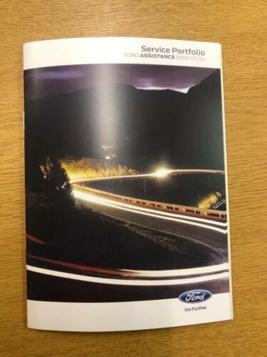 Ford Service Book New Genuine Covers All Models Galaxy//S-max//Fiesta//Mondeo****